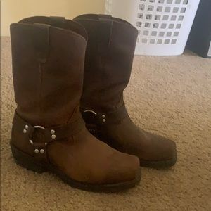Engineer boots (harness boots, motorcycle boots)